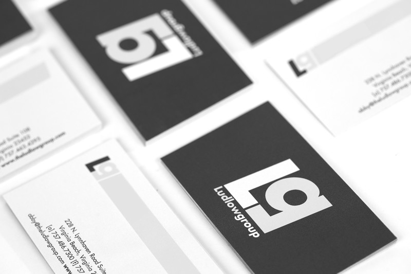 Ludlow Group Business Card Layout