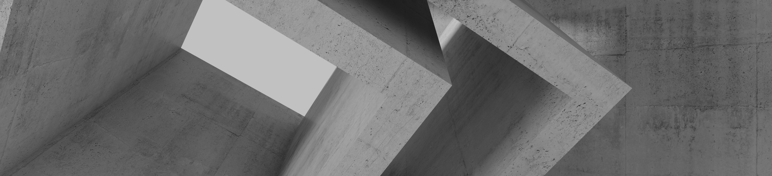 Abstract concrete shapes