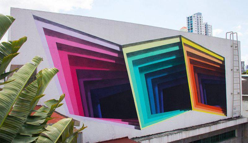 1010 Street Art Murals 3D