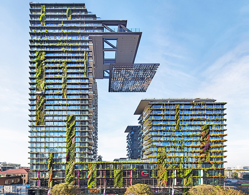 Green Residential Architecture Aims for Future Sustainability