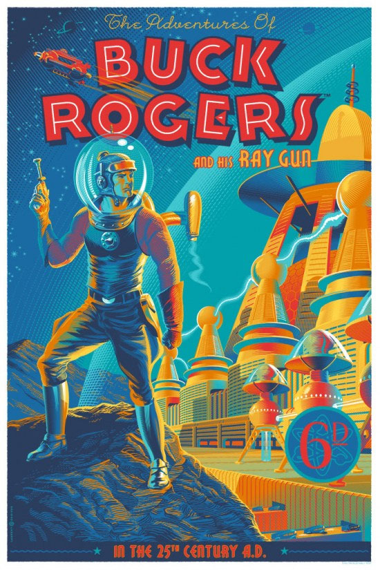 Illustrator Transforms Classic Movie Posters With Retro Graphic Design