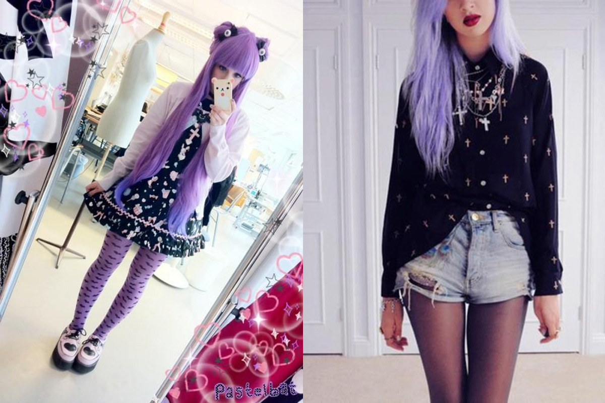 776a62332a887 Pastel Goth  This trend emerged on Tumblr in the early 2010 s as pastel  colors began to come into style. A combination of the Goth and pastel  aesthetics